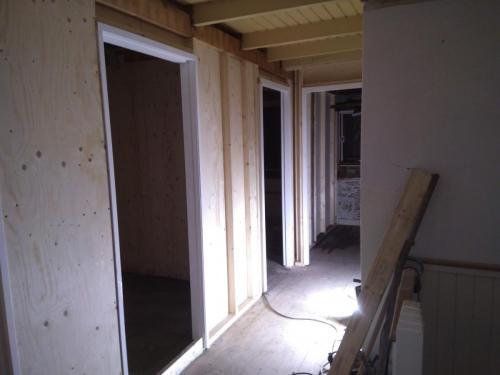 Nieuwe indeling bovenverdieping